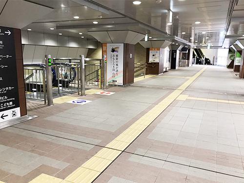 下関駅改札